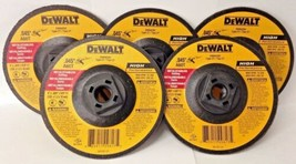 "Dewalt DW8425H High Performance 5"" x .045"" x 5/8""-11 Metal Cutting Wheel... - $8.42"