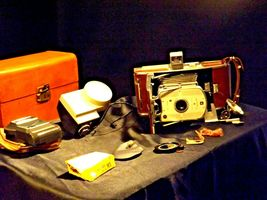 Polaroid Land Camera Model 95B USA AA19-1606 Antique image 6