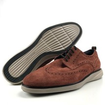 Cole Haan Grand Evolution Men's Size 13 Shortwing Brandy Brown Suede Cob... - $159.95