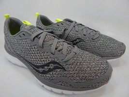 Saucony Liteform Feel Size 9 M (D) EU 42.5 Men's Running Shoes Gray S40008-21