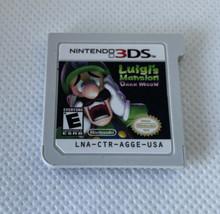 Luigi's Mansion: Dark Moon (3DS, 2013) Game Only - $14.84