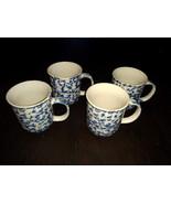 Tienshan Folk Craft Set of 4 Coffee Cups Animal Series RETIRED - $12.99
