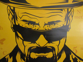 Breaking Bad Poster AMC Television Series Tie In Mancave Display Drug Dealer '13 - $19.22