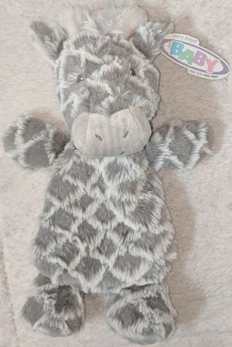 Mary Meyer Baby 42051 Gray 12 Inch Afrique Giraffe Lovey Plush Infant Safe