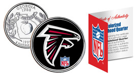 ATLANTA FALCONS NFL Georgia Statehood Quarter U.S. Coin  *Licensed* - $8.86