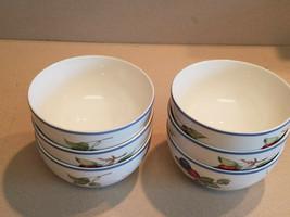 """Set of 6 Villeroy & Boch 1748 """"Cottage"""" Design Rice Bowls Made In Germany - $148.50"""