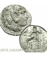 ALEXANDER the Great Genuine Ancient Greek Silver Tetradrachm Herakles Pr... - $296.10