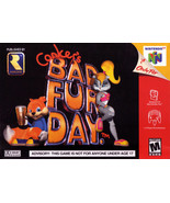 Conker's Bad Fur Day N64 Great Condition Fast Shipping - $119.93