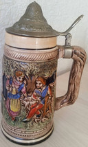 Vintage GERMAN STEIN Small Collectible Beer Stein 1980s - $17.99