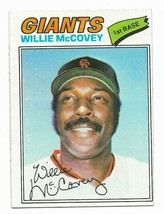 1977 Topps #547 Willie McCovey, San Francisco Giants - $1.70
