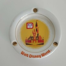 Disney Ashtray 1970's Ceramic Cinderella Castle Japan Vtg Souvenir  - $13.99