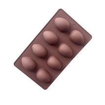 Jun Ostern 8-cavity Ei Form Antihaftbeschichtetes Silikon Form für Kuche... - $240,43 MXN
