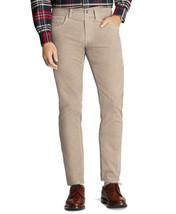 Brooks Brothers Mens Beige Clark Fit 20 Wale Corduroy Pants 40W x 30L 53... - $69.29