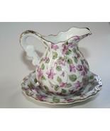 Royal Chintz #2179 Vintage Violets Pitcher & Bowl  #2409 - $28.00