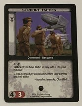 Battletech Support Tactics TCG 1996 CCG Wizards of the Coast Trading Card CR - $3.95