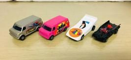 Vintage Corgi Jr - Lot of 4 Super Hero 1/64 cars EX/NM - $39.59