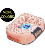Floral-Galore Vintage Print Rectangular Designer Fashion Pet Dog Bed Beds - $59.49+