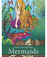 Adult Coloring Book: Mermaids: Life Under the Sea by Art and Color Press - £8.89 GBP