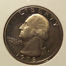 1978-S Proof Washington Quarter #032 - $3.99