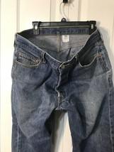 Levi 501 Button Fly Blue Jeans See Description For Size B07 - $26.99
