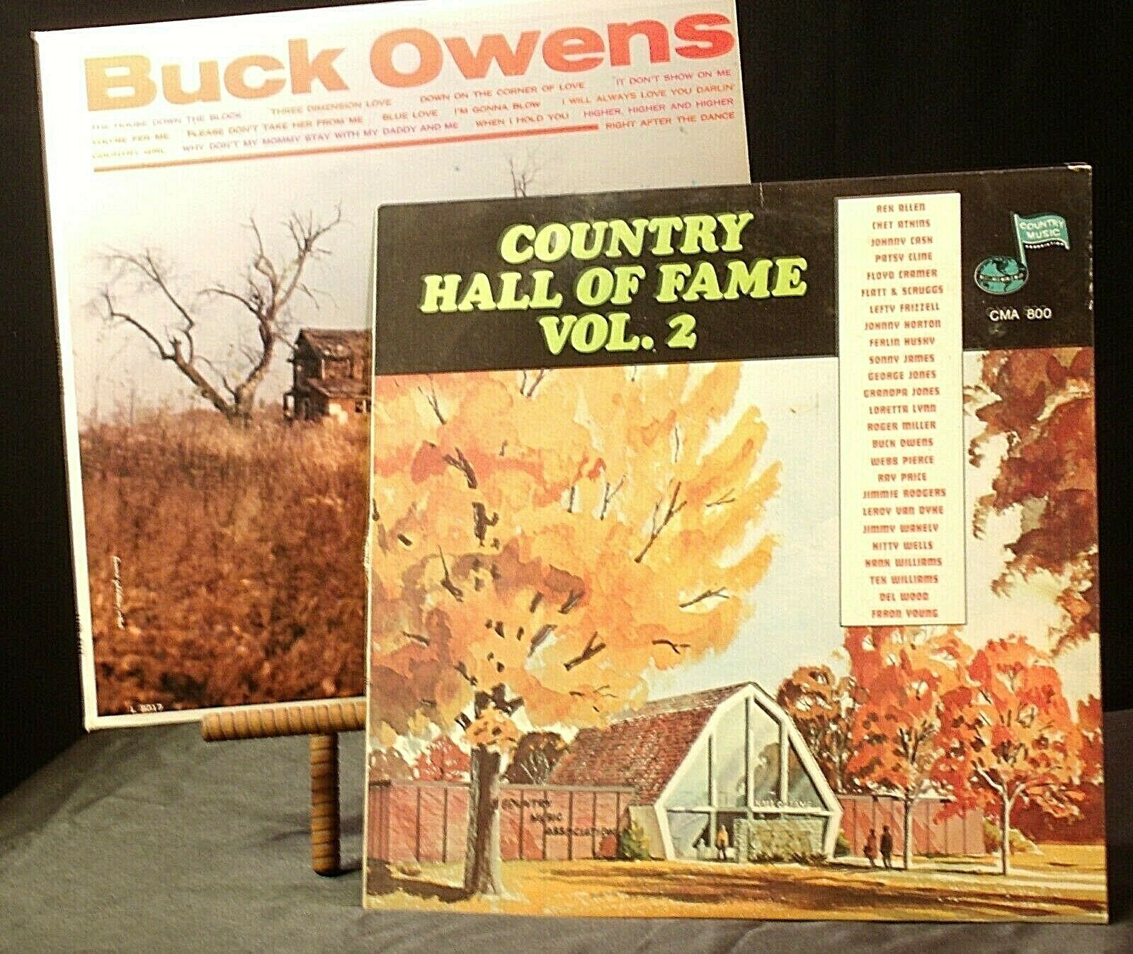 Buck Owens – Country Hall Of Fame Vol. 2  AA20-RC2111 Vintage