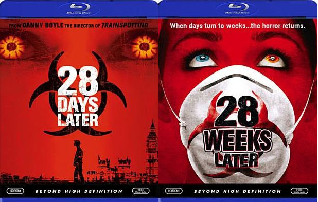 28 Days Later / 28 Weeks Later [Blu-ray]