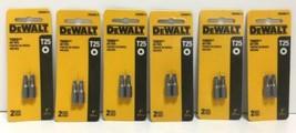 "(New) DEWALT Torx Power Bit   T25 DW2665-2  1"" Length  Lot of 6 - $36.62"