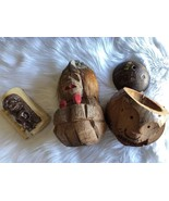Bundled Al Harrington Mug Coconut Husk Monkey Coin Saver - $29.70