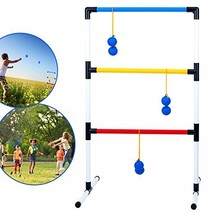 Ideas In Life One Piece Ladder Ball Game Set - Indoor and Outdoor Games ... - $31.76