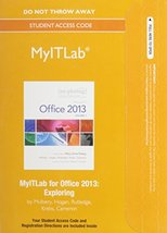 MyLab IT without Pearson eText -- Access Card -- for Exploring Microsoft... - $53.11