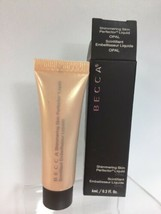 BECCA Opal Liquid Shimmering  Perfector .2oz Highlighter Deluxe Sz Travel - $10.84