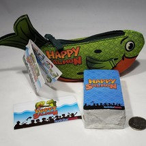 Happy Salmon Family Action Card Game Party Game Official Green Version S... - $11.95