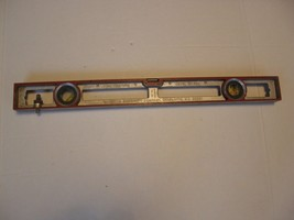 DOUGLAS RADIATOR SPECIALTY CO.VINTAGE METAL CARPENTRY LEVEL NO. 524 - $29.69