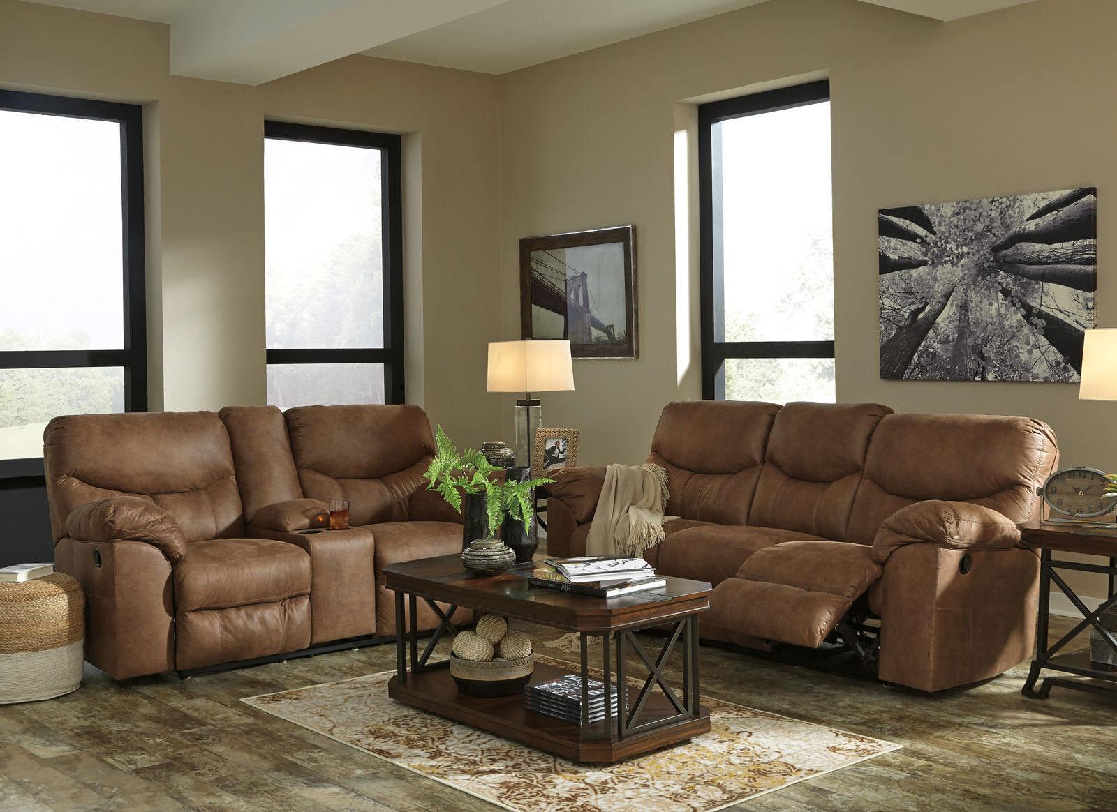 New modern design living room brown fabric reclining sofa - Fabric reclining living room sets ...