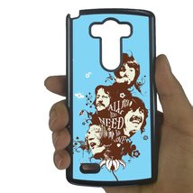 Beatles LG G4 case Customized Premium plastic phone case, design #1 - $12.86