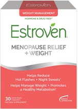Estroven Weight Management Menopause Relief 30 Caps. Exp :12/2020 ( Pac... - $10.00