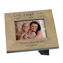Sister personalised Frame Best Friend Bridesmaid, Birthday Wedding Speci... - $38.48