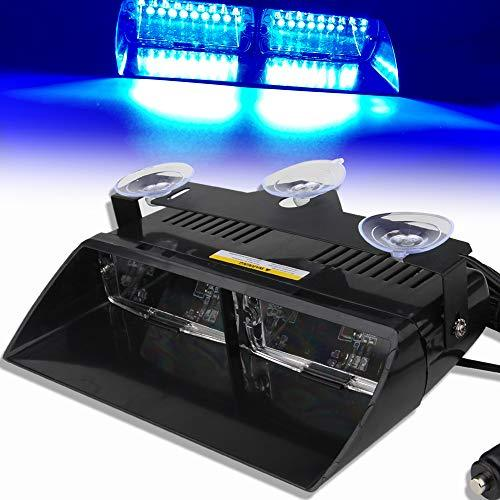 Car 16-led 18 Flashing Mode Emergency Strobe LED Dash Warning Strobe Flash Light