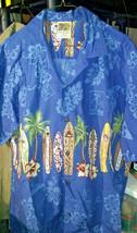 Winnie Fashion Men's Shirt XL Made in Hawaii Surfboard Hawaiian Camp - $30.00