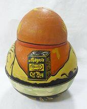 Vintage Tabak Dose Bristol Ware Cowboy 1979 Behälter Roly Poly image 4