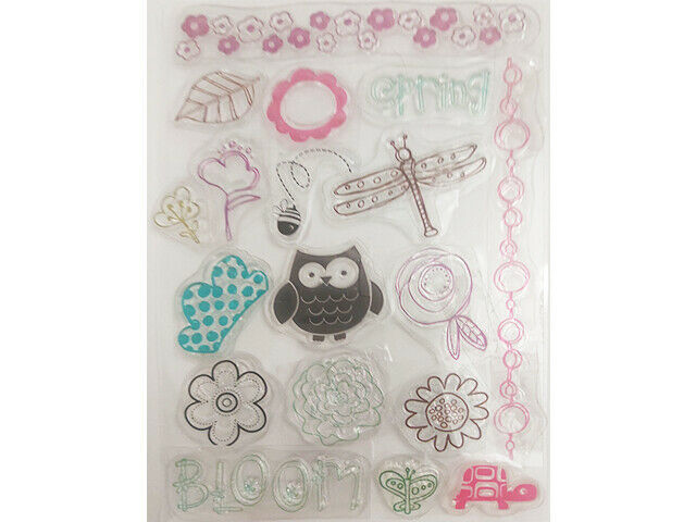 Miscellaneous Spring Clear Stamp Set