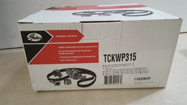 Gates TCKWP315 Engine Timing Belt Kit with Water Pump - $147.54