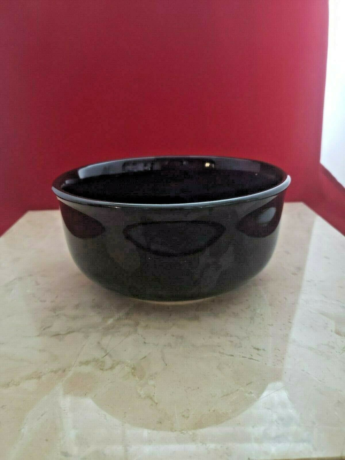 Royal Norfolk Black Soup / Cereal Bowl - Small Chip - $9.99