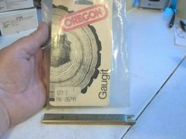 "1 OREGON 26799 Gaugit .040"" single raker saw chain depth gauge end drop style - $19.34"