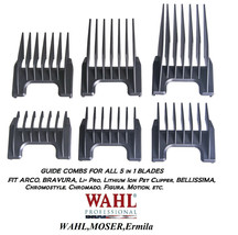 WAHL ATTACHMENT GUIDE COMB For PRO PET,Academy 5 in 1 Adjustable Blade 5in1 - $8.43+