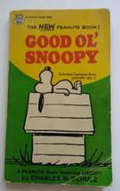 Good Ol' Snoopy Book Charles M Schutlz Peanuts Comic  Paperback 1968 Vintage - $8.89