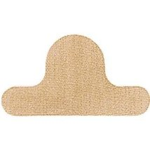 "9115994 PT# 801 Bandage Adhesive Fabric Toe Shield 2-1/2x1-3/8"" Coverlet 100/Bx  - $13.58"