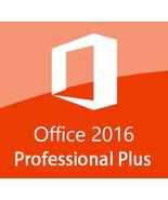 Microsoft Office 2016 Professional Plus Key & Download 32/64 Bit - $9.90