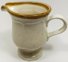 Vintage Mikasa Cream Pitcher EC400 Japan Great Condition Pottery Ceramic - $10.13