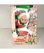 Vintage 1991 Mattel Magic Nursery Holiday Baby New in Box Limited Edition - $190.54